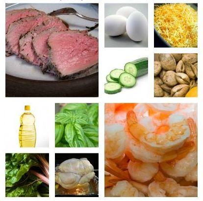 zero low carb vegetarian list