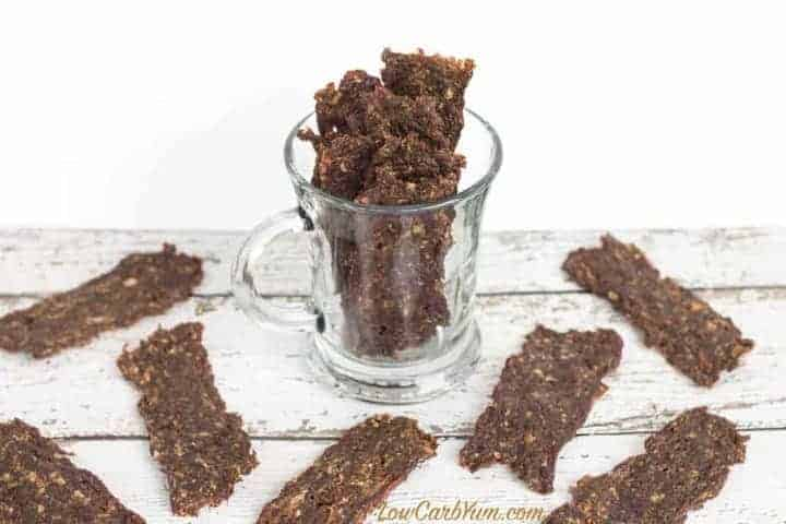 Spicy low carb ground beef jerky recipe