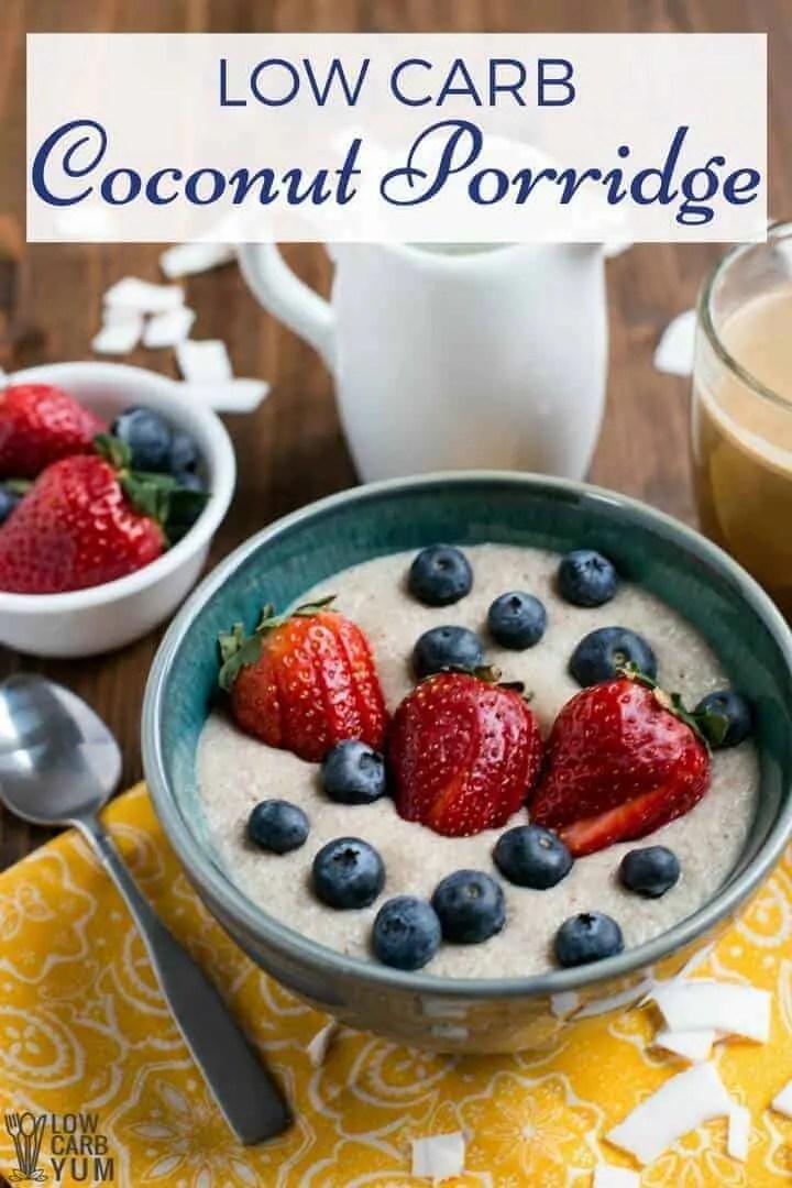 Keto Coconut Low-carb Porridge