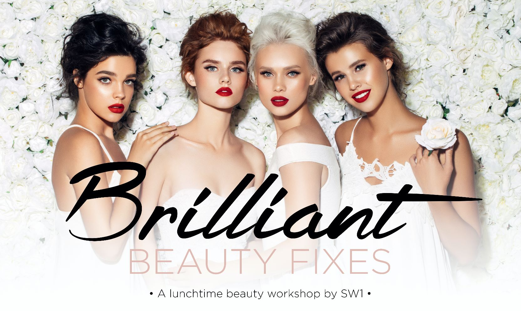 A lunchtime beauty workshop by SW1