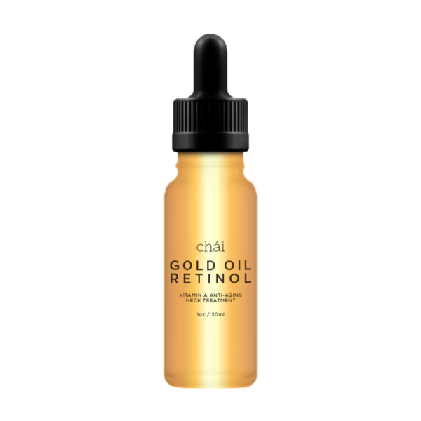 GOLD OIL RETINOL Vitamin A Anti-aging Neck Treatment