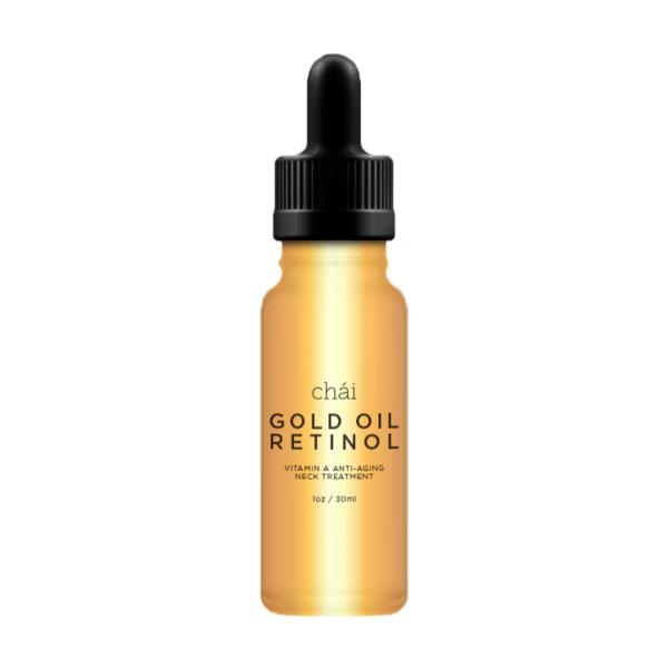 GOLD OIL RETINOL Vitamin A Anti-aging Neck Treatment