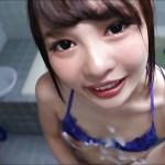 【小学4年生の姪に顔射】一緒に風呂に入ってオマンコを洗いフェラしてもらうと…