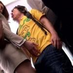 満員電車で小学生の男の子が勃起していたので触って射精させました