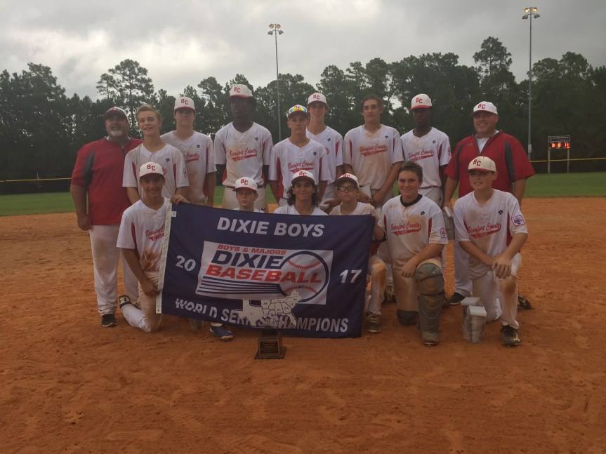 CHAMPS! Beaufort County Wins Dixie Boys World Series Title