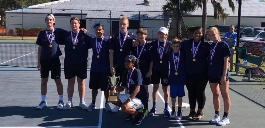 HS Tennis: BA Boys Win SCISA 1A Championship