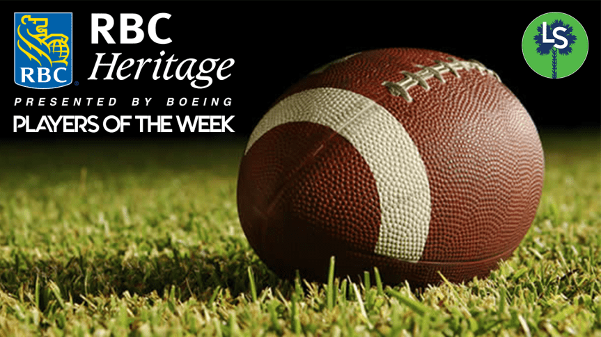 HSFB: See who was named the Week 9 RBC Heritage Player of the Week