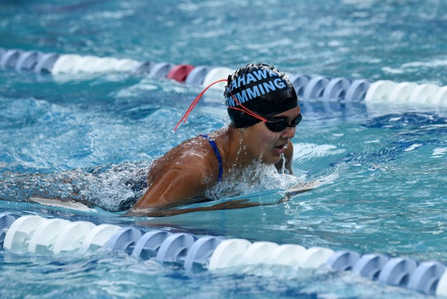 HS Swimming: Seahawks Top 11 Schools At HHCA Invitational