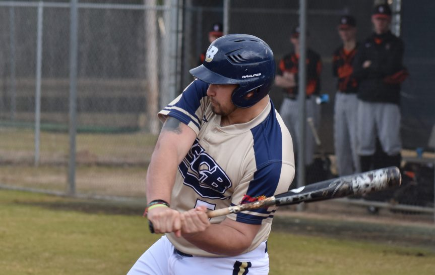 Sand Shark Baseball Splits On Opening Day