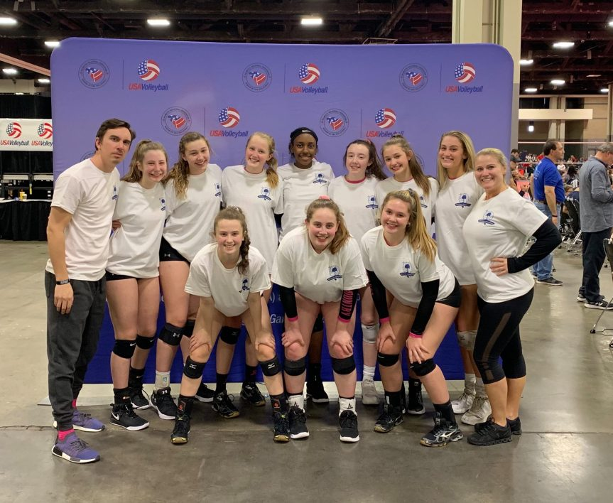 LCVC 16 National Wins Regional Title