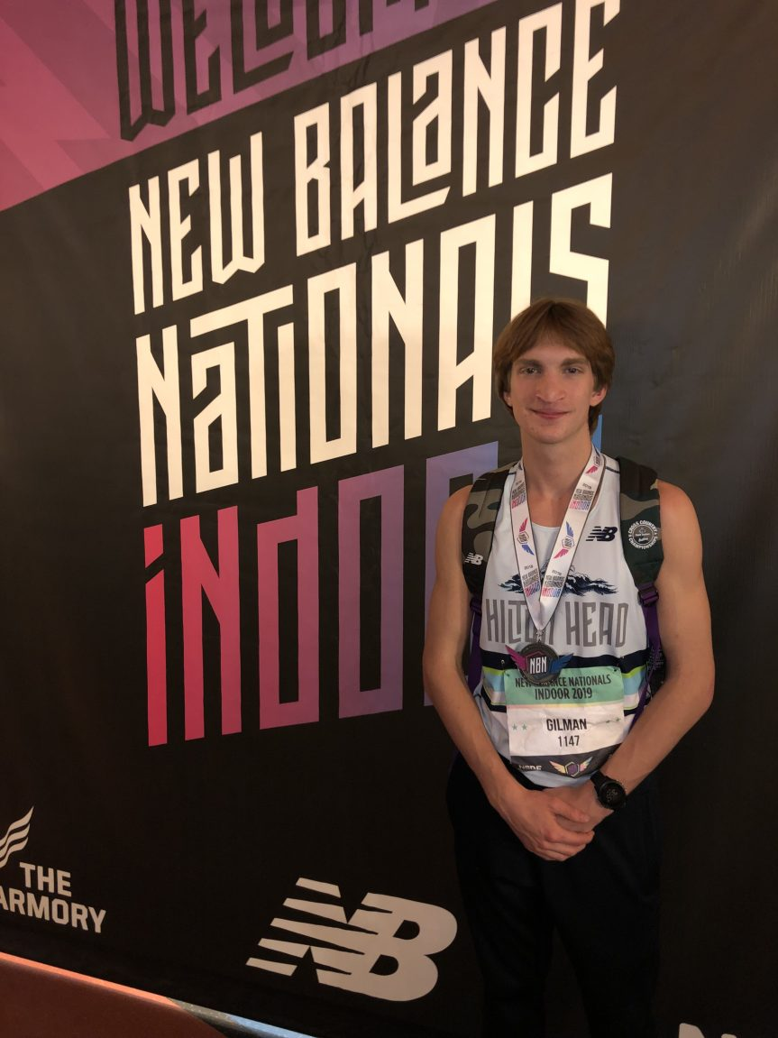 HS T&F: Gilman Shines At Indoor Nationals