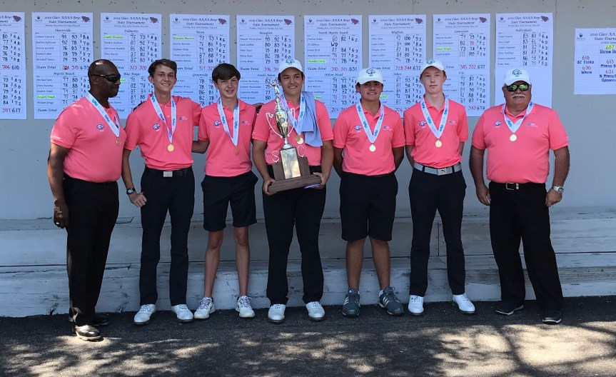 HS Golf: Bunce, Seahawks Surge To State Title