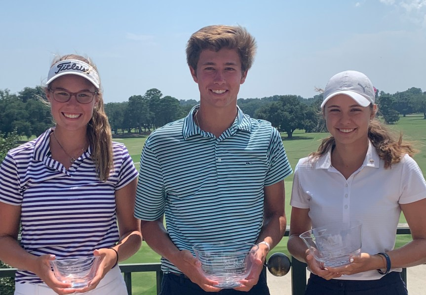 Local Golfers Play Well At Junior Azalea