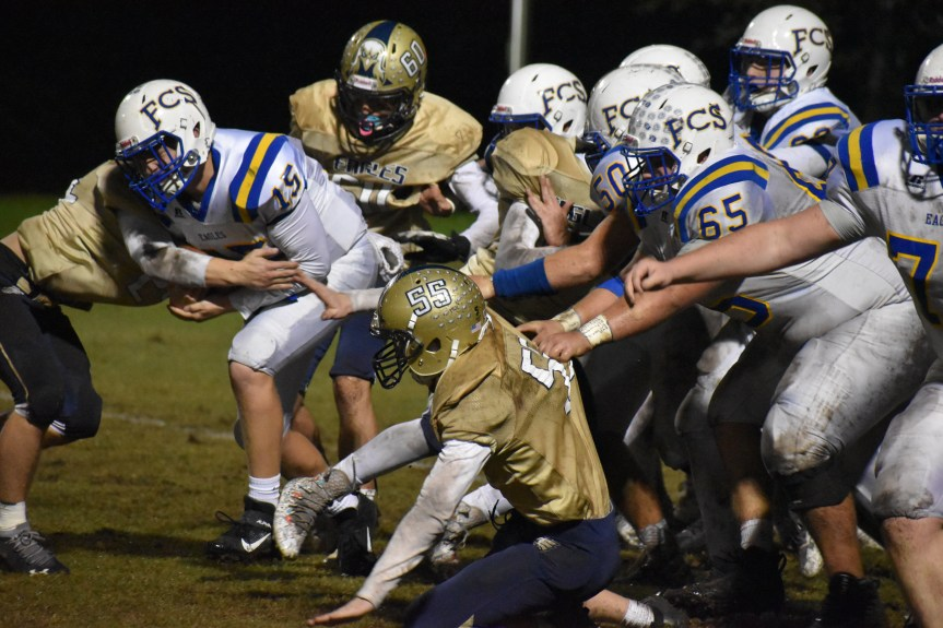 HSFB: HHCA scores 35 straight to stun defending champs