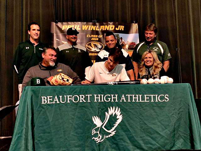 HS Baseball: Winland makes it official with Mizzou