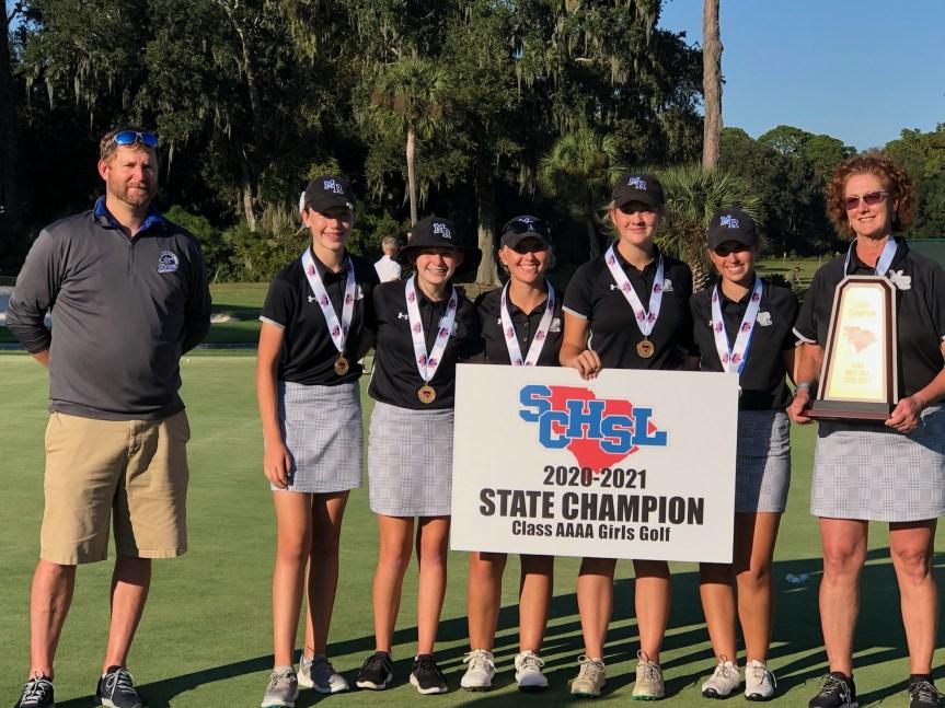 HSGOLF: Sharks run away with 4A girls golf crown