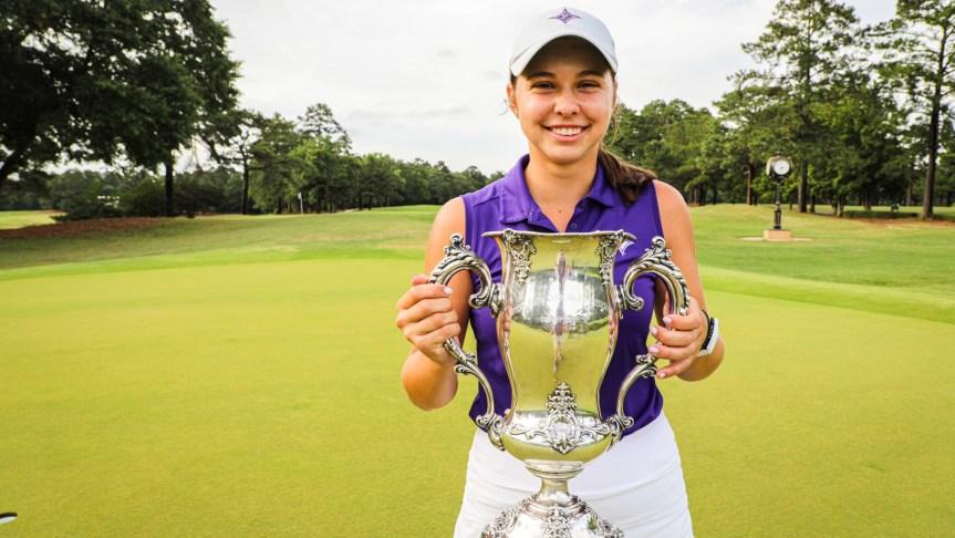 GOLF: Former HHP star Sophia Burnett wins WSCGA Amateur