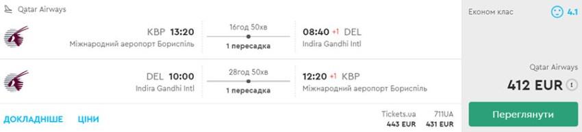 """Авіаквитки із Києва в Делі """"туди-назад"""" на сайті Momondo.ua"""