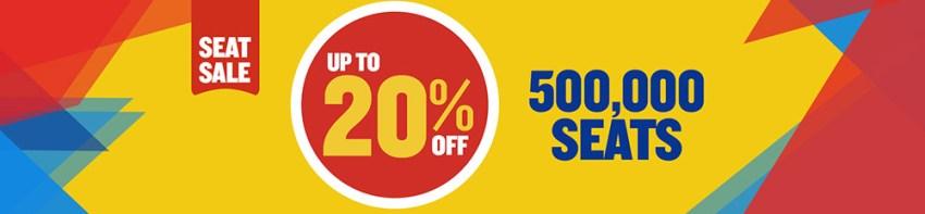 Ryanair розпродаж 500 авіаквитків зі знижкою до 20%
