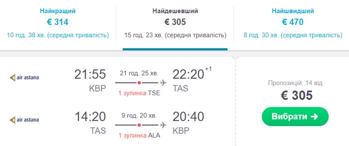 Київ - Ташкент - Київ