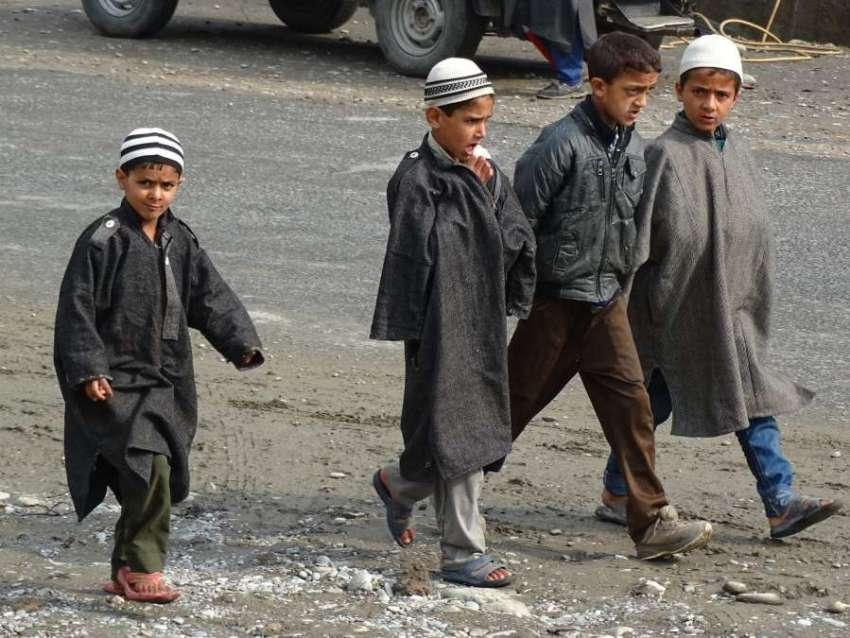 Children in Kashmir