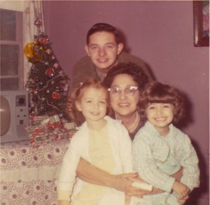 Family Picture Christmas ca 1964