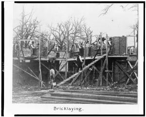 Claflin Bricklaying at Claflin University, Orangeburg, S.C. LOC 3c07847v