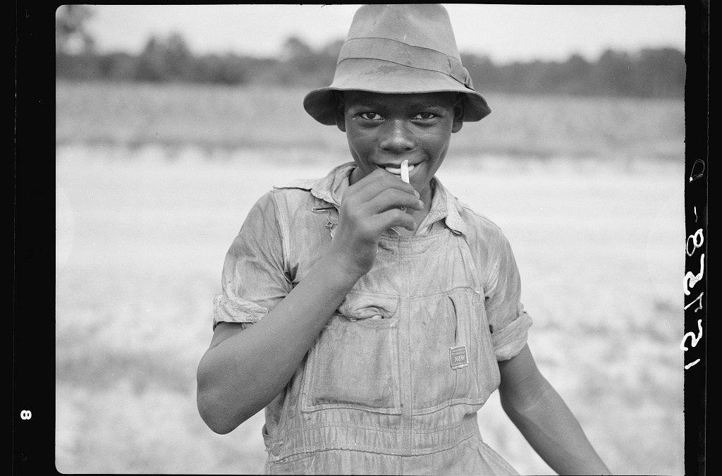 African American Boy, Florence County, South Carolina, Summer 1938