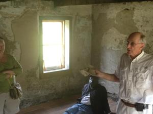 Guests Inside Ossabaw Slave Cabin Photo by Toni Renee Battle