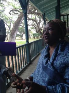 Patt Gunn Gullah Storyteller Photo by Toni Renee Battle