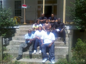 Campbell Family Members Visit Laurelwood