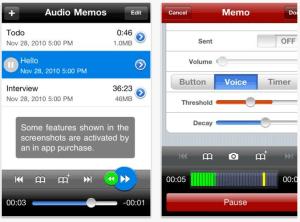 AudioMemosScreenshot