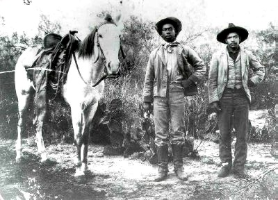 Black Cowboys, ca. 1890