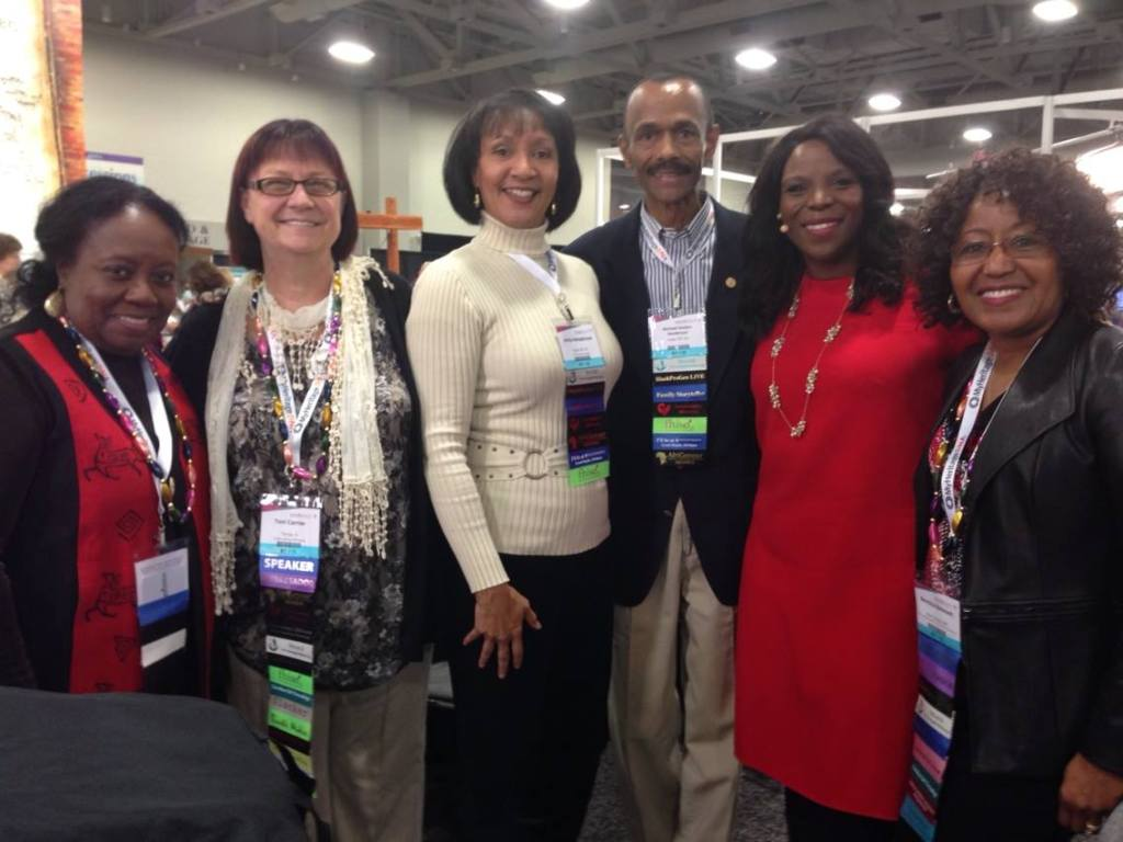 Angela Walton Raji, Toni Carrier, Anita Henderson, Michael Henderson, Nkoyo Iyamba and Bernice Bennett
