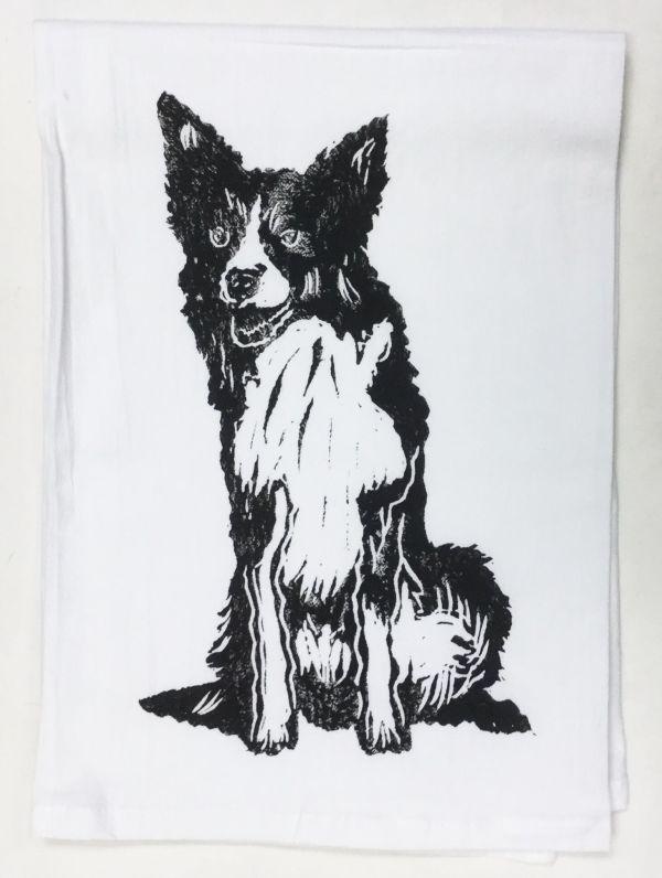 Border Collie towel
