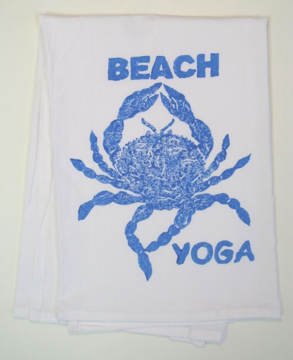 beach yoga towel