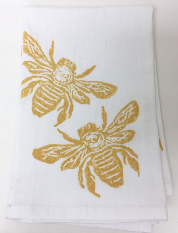 bees napkin