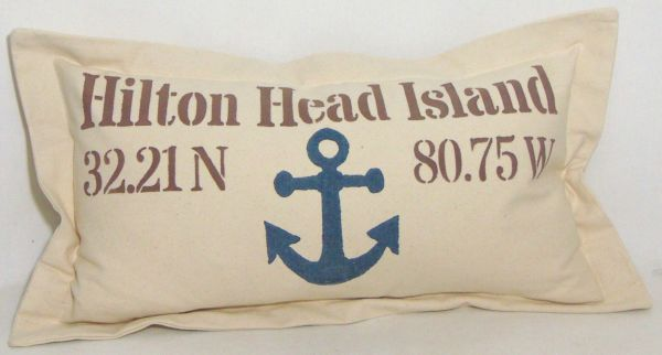 c anchor pillow