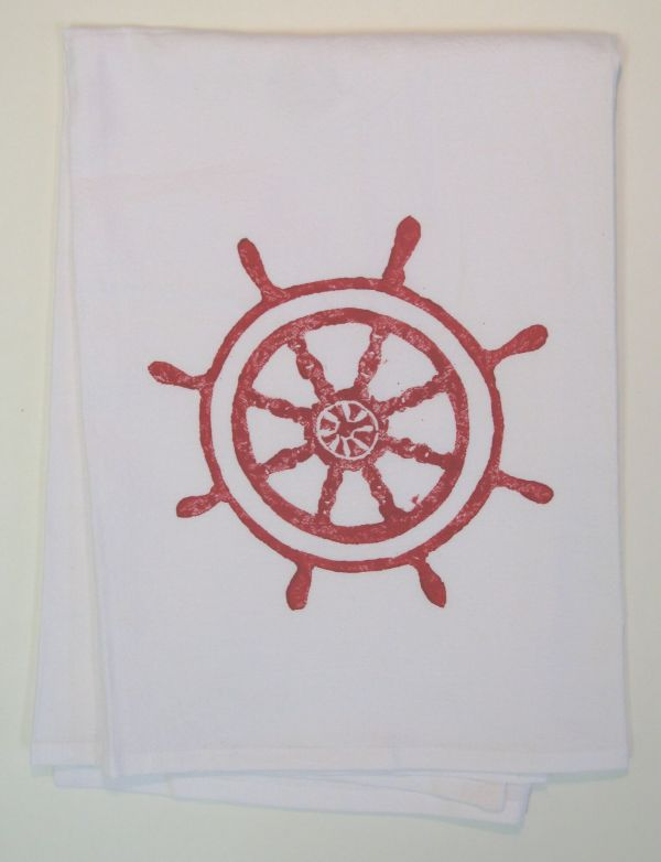 captains wheel towel