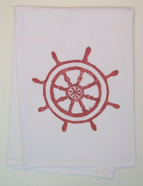 captains wheel towel