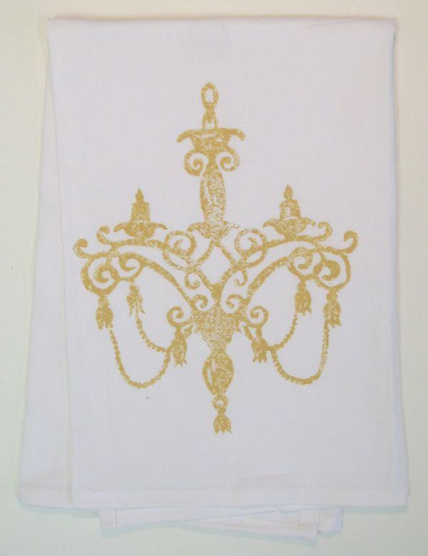 chandelier towel