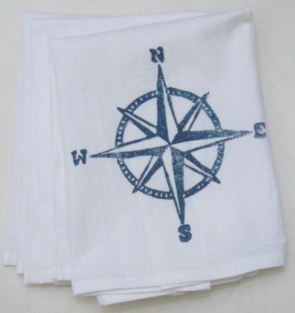 compass napkin