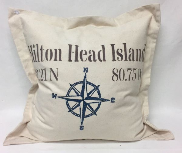 compass pillow