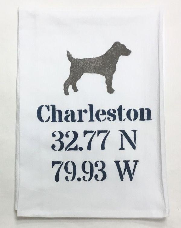 dog coordinate towel