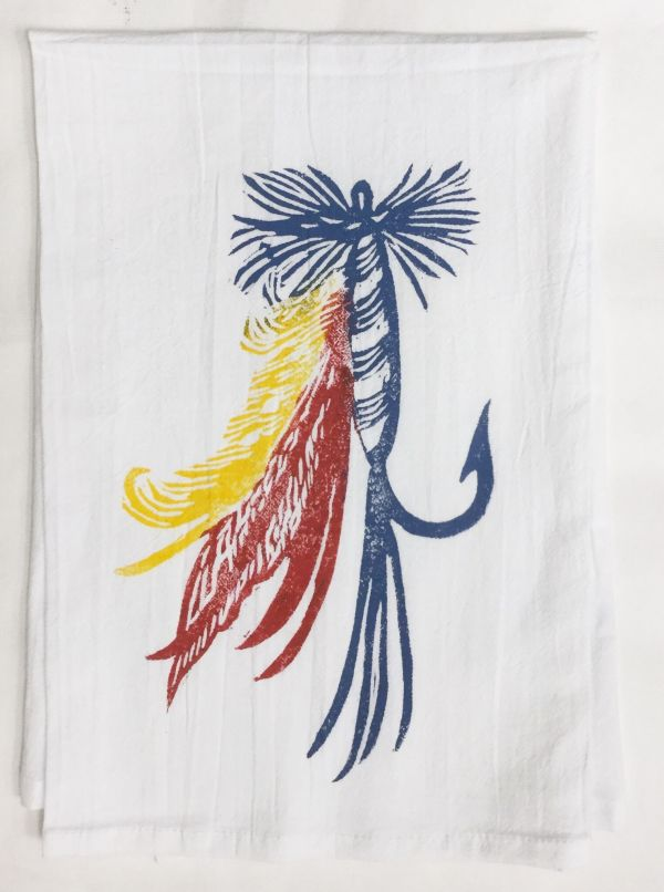 fish lure towel
