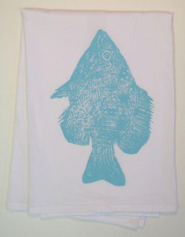 fish towel