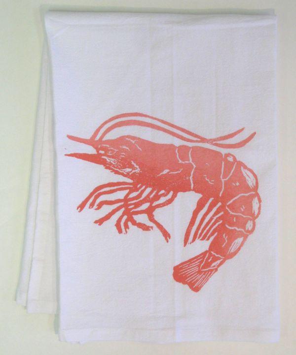 jumbo shrimp towel