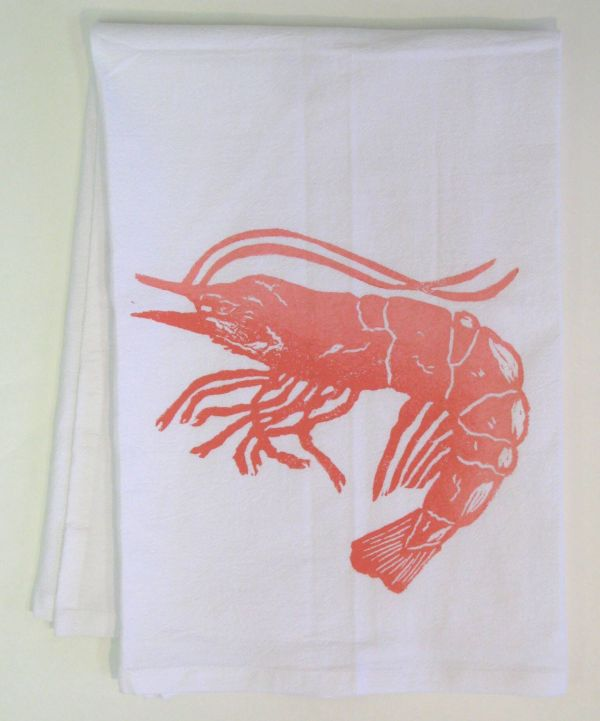 jumbo shrimp towel
