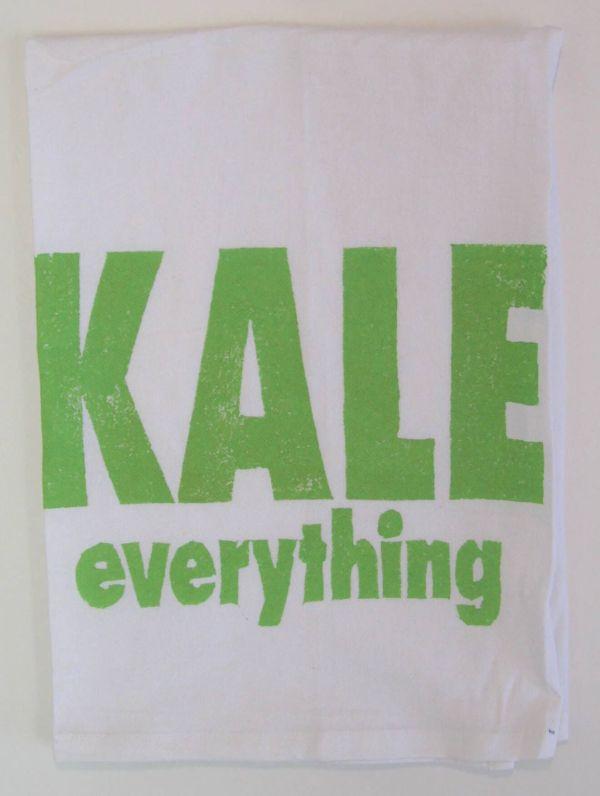 kale everything towel