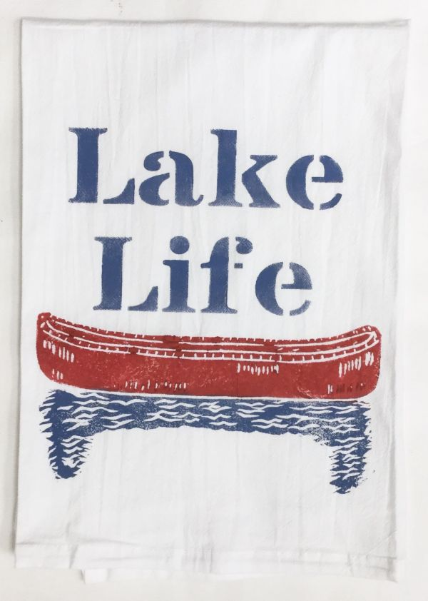 lake life towel